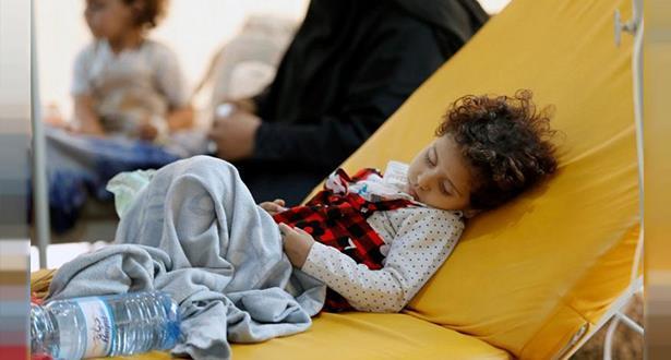 إصابات الكوليرا في اليمن تجاوزت 300 ألف حالة منذ بداية 2019