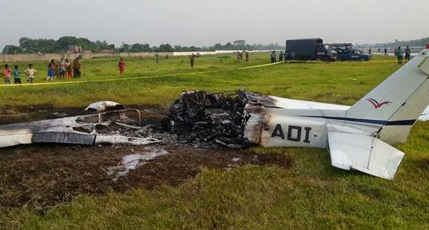 العثور على حطام طائرة النقل الكونغولية المنكوبة بدون ركاب