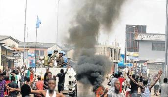 مقتل 14 على الأقل في أحداث عنف بشرق الكونغو