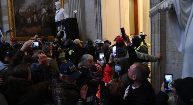"""الشرطة الأمريكية تحذّر من """"خطة ميليشيا"""" لـ""""اقتحام"""" مبنى الكونغرس في 4 مارس"""