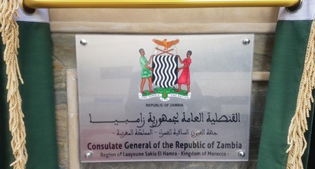 La Zambie maintient son Ambassade et son Consulat au Maroc