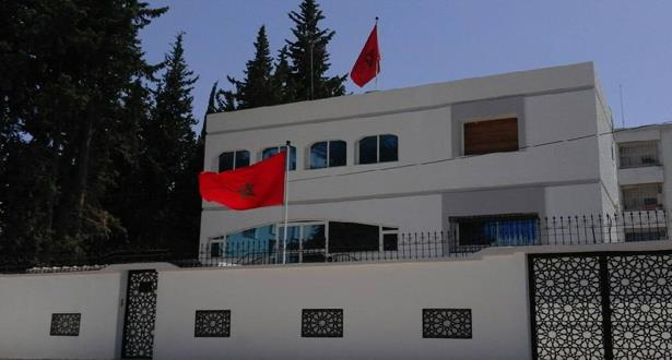 سفارة المغرب والقنصلية العامة للمملكة بتونس تتوليان إيواء المغاربة العالقين بتونس