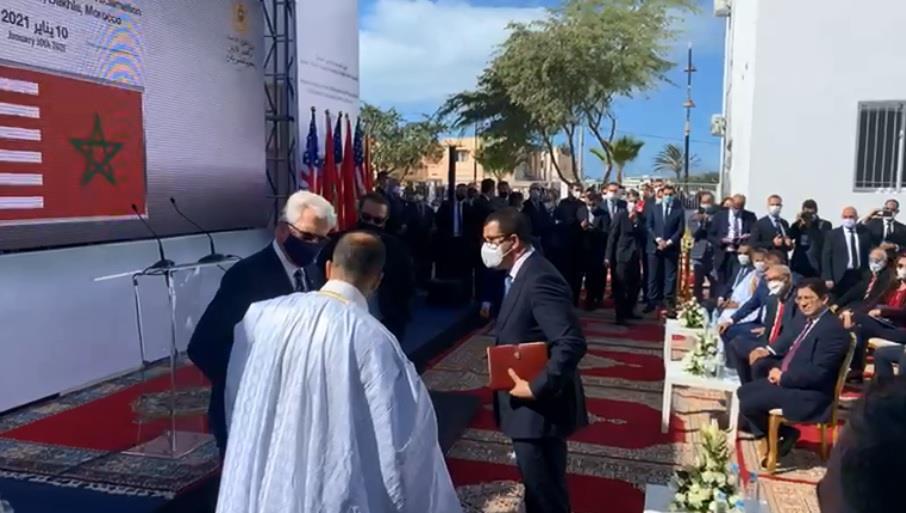 Le consulat US à Dakhla ouvrira la voie aux sociétés américaines pour investir au Maroc