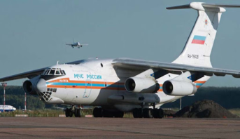 روسيا ترسل طائرة محملة بمساعدات طبية إلى الولايات المتحدة