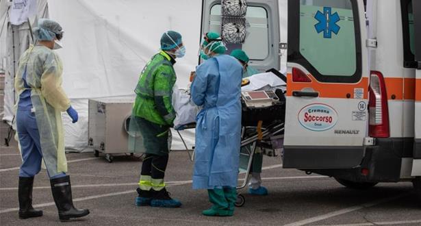 إيطاليا.. تسجيل 969 حالة وفاة خلال 24 ساعة