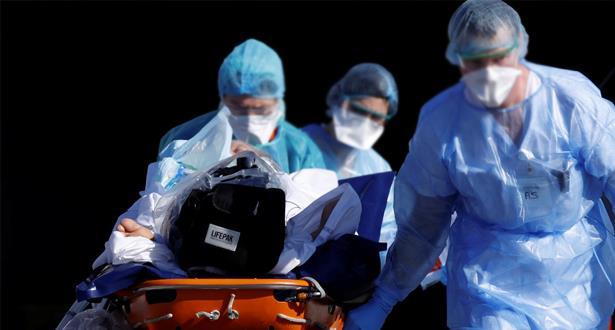 أزيد من 1300 وفاة بفيروس كورونا في فرنسا