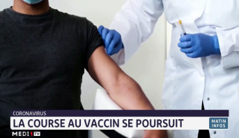 Coronavirus: la course au vaccin se poursuit