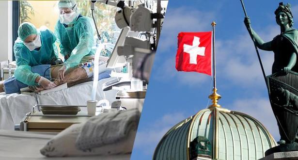 سويسرا .. 49 حالة وفاة و734 إصابة جديدة بفيروس كورونا