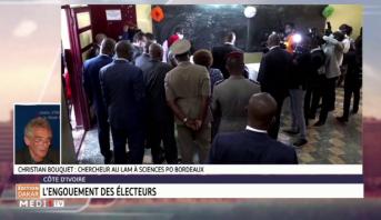 Côte d'Ivoire: l'engouement des électeurs