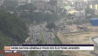 Côte d'Ivoire: mobilisation générale pour des élections apaisées