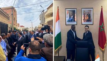 جمهورية الكوت ديفوار تفتح قنصلية عامة لها بمدينة العيون