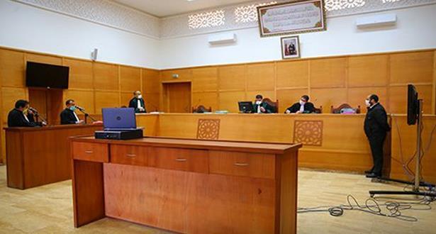 عقد 330 جلسة وإدراج 5006 قضايا بمختلف محاكم المملكة منذ انطلاق عملية التقاضي عن بعد