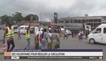 Côte d'Ivoire-Sécurité routière: des volontaires pour réguler la circulation