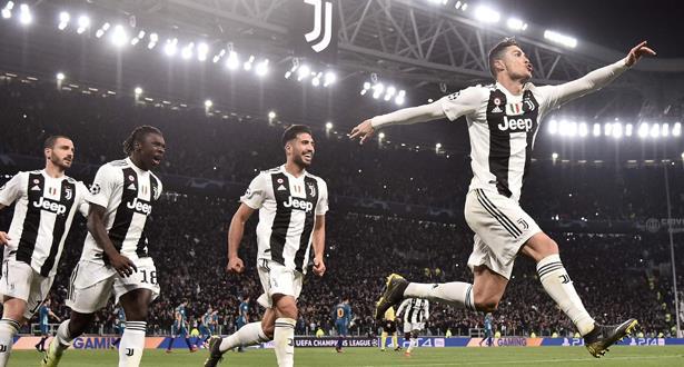 رونالدو مهدد بالعقوبة في دوري أبطال أوروبا