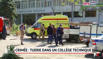Crimée: tuerie dans un collège technique