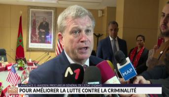 Maroc - Etats-Unis : pour améliorer la lutte contre la criminalité