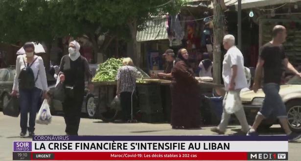 Coronavirus-Liban: la crise financière s'intensifie