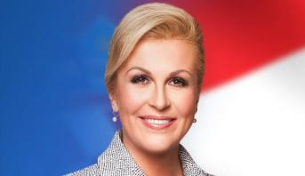 الرئيسة الكرواتية تعلن رسميا ترشحها لولاية رئاسية جديدة