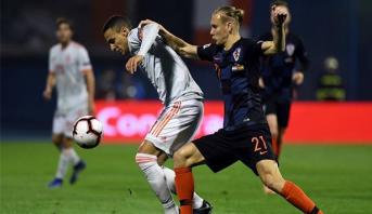 دوري الأمم الأوروبية: كرواتيا تثأر من إسبانيا وتنعش آمالها