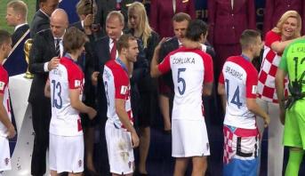 Viré au début du Mondial, un attaquant croate refuse sa médaille d'argent