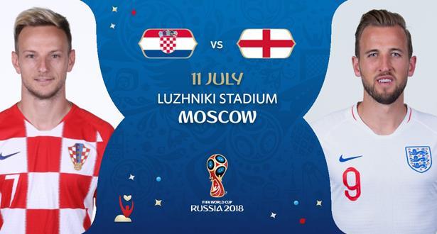 نصف نهائي المونديال .. التشكيلة المحتملة لمباراة كرواتيا و إنجلترا