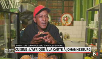 Cuisine: l'Afrique à la carte à Johannesburg
