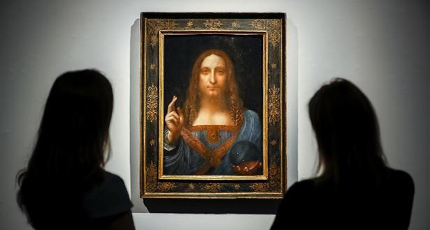 إيطاليا تسمح بإعارة أعمال للفنان ليوناردو دافينشي لمتحف اللوفر