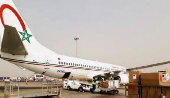 كوفيد-19 .. وصول مساعدات طبية مغربية إلى دكار