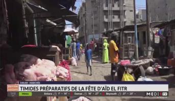 Dakar: timides préparatifs de la fête d'Aid El Fitr