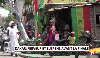 Sénégal: parée aux couleurs nationales, Dakar attend le trophée continental