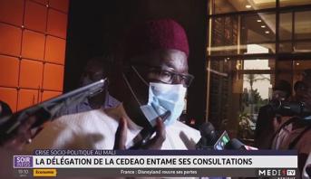 Crise socio-politique au Mali: la délégation de la CEDEAO entame ses consultations