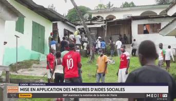 Coronavirus au Gabon: mise ne application des mesures d'aides sociales