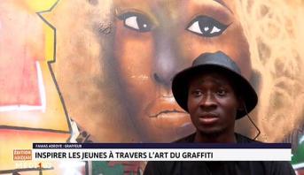 Nigéria: inspirer les jeunes à travers l'art de la graffiti