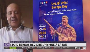 L'artiste marocain Majid Bekkas revisite l'hymne à la joie