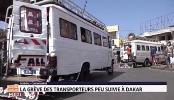 Sénégal-Coronavirus: la grève des transporteurs peu suivie à Dakar