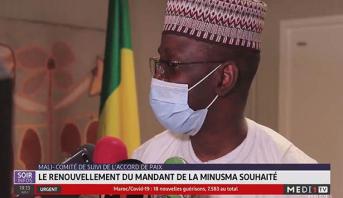 Mali-Comité de suivi de l'accord de paix: le renouvellement du mandant de la MINUMSA souhaité