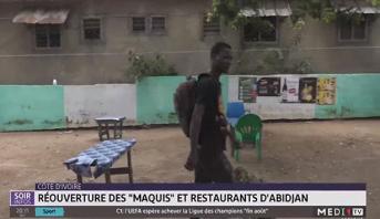 """Côte d'Ivoire: réouverture des """"maquis"""" et restaurants d'Abidjan"""