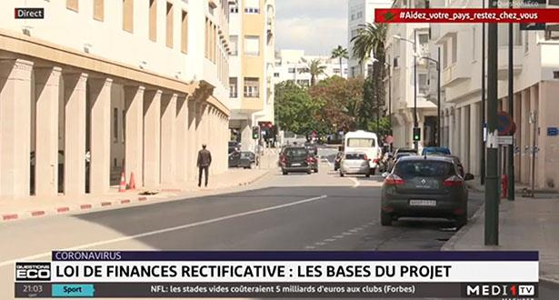 Loi de finances rectificative et et correction à la Bourse de Casablanca