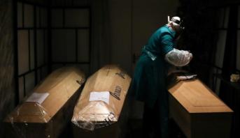 """روسيا تسجل """"قفزة قياسية"""" في عدد الوفيات جراء الجائحة"""