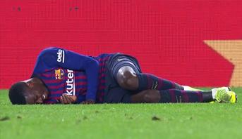 برشلونة يعلن مدة غياب ديمبيلي ويخسر خدماته في مباريات حاسمة