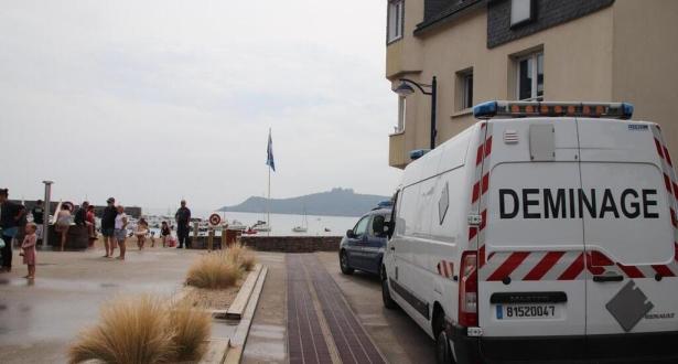 France: une plage évacuée après la découverte d'un obus datant de la Seconde Guerre Mondiale
