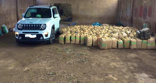 Casablanca: saisie de plus de 5 tonnes de chira