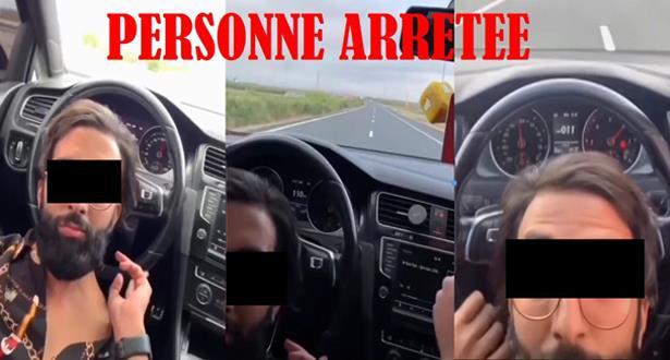 Casablanca: arrestation d'un individu après la diffusion d'une vidéo le montrant conduire de manière spectaculaire