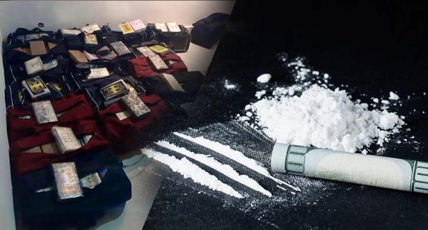 Maroc: 476 kg de cocaïne saisis dans un appartement à Harhoura