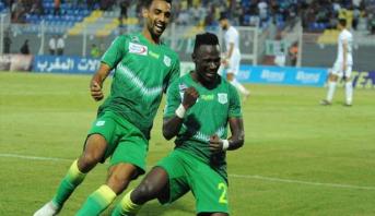 الدفاع الحسني الجديدي يرتقي إلى صدارة البطولة الاحترافية
