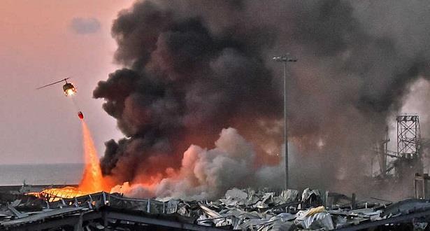 ارتفاع حصيلة انفجار مرفأ بيروت إلى 171 قتيلا