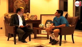 برنامج خاص > حوار خاص .. دييغو مارادونا مع جلال بوزرارة