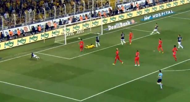 فيديو .. درار يعود للتألق ويهز الشباك في الدوري التركي