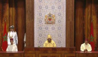 Le Roi prononce un discours à l'occasion de l'ouverture de la nouvelle session parlementaire