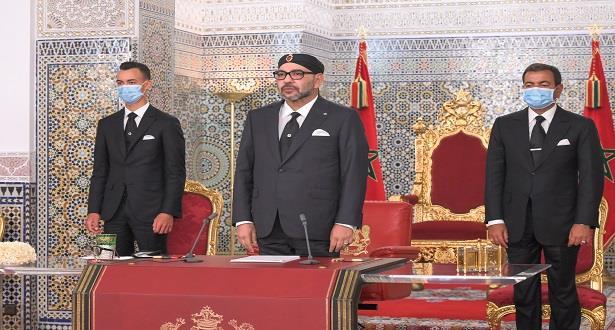 Le Roi Mohammed VI adresse un discours à la Nation à l'occasion de la Fête du Trône